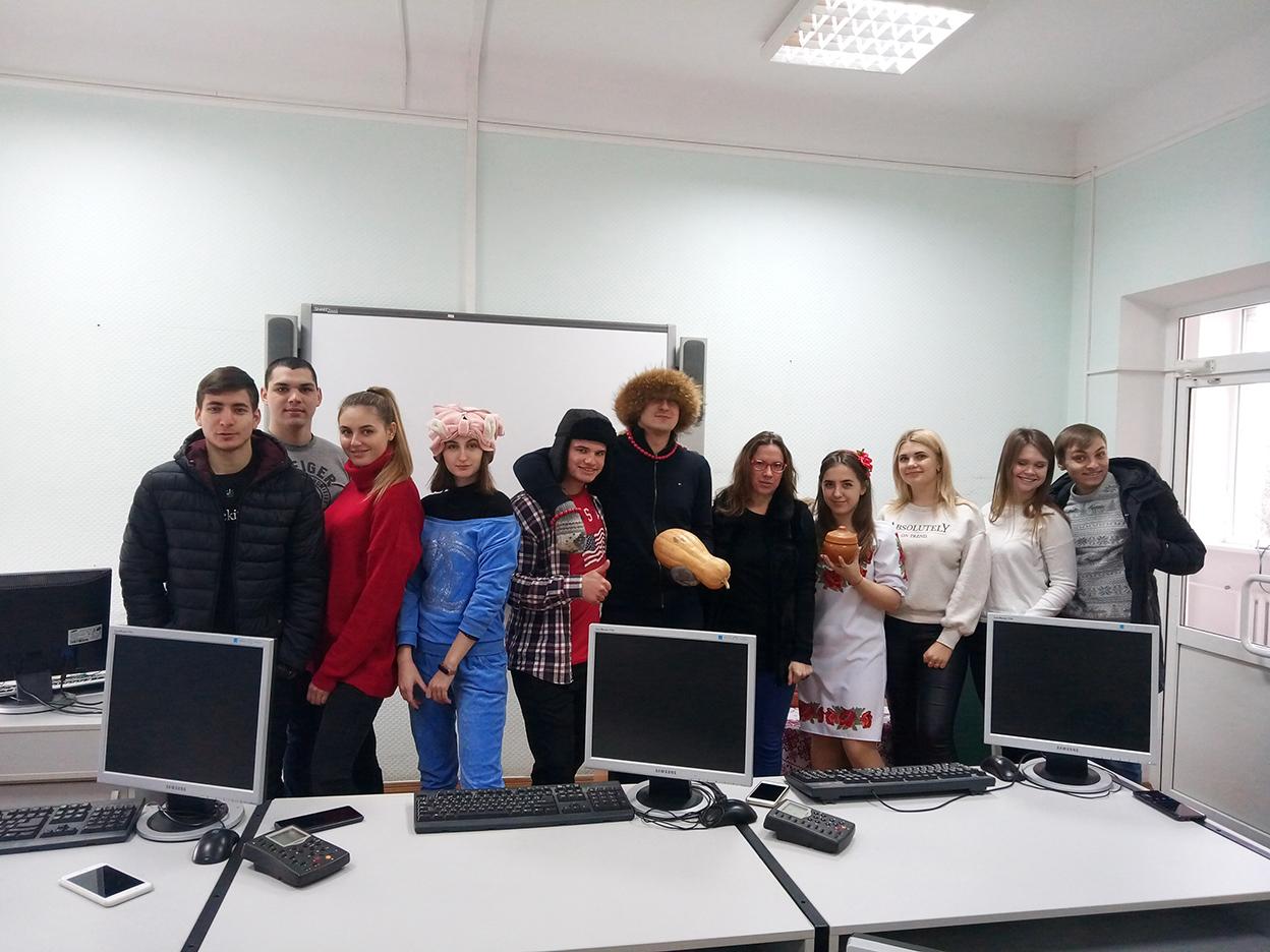Вистави та вікторини у рамках Тижня європейських мов на Факультеті міжнародних відносин НАУ