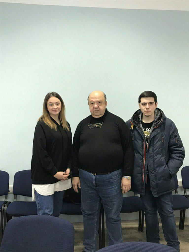 Мастер-клас «Кібербезпека бізнесу у Всесвітній мережі Інтернет» для студентів Факультету міжнародних відносин НАУ