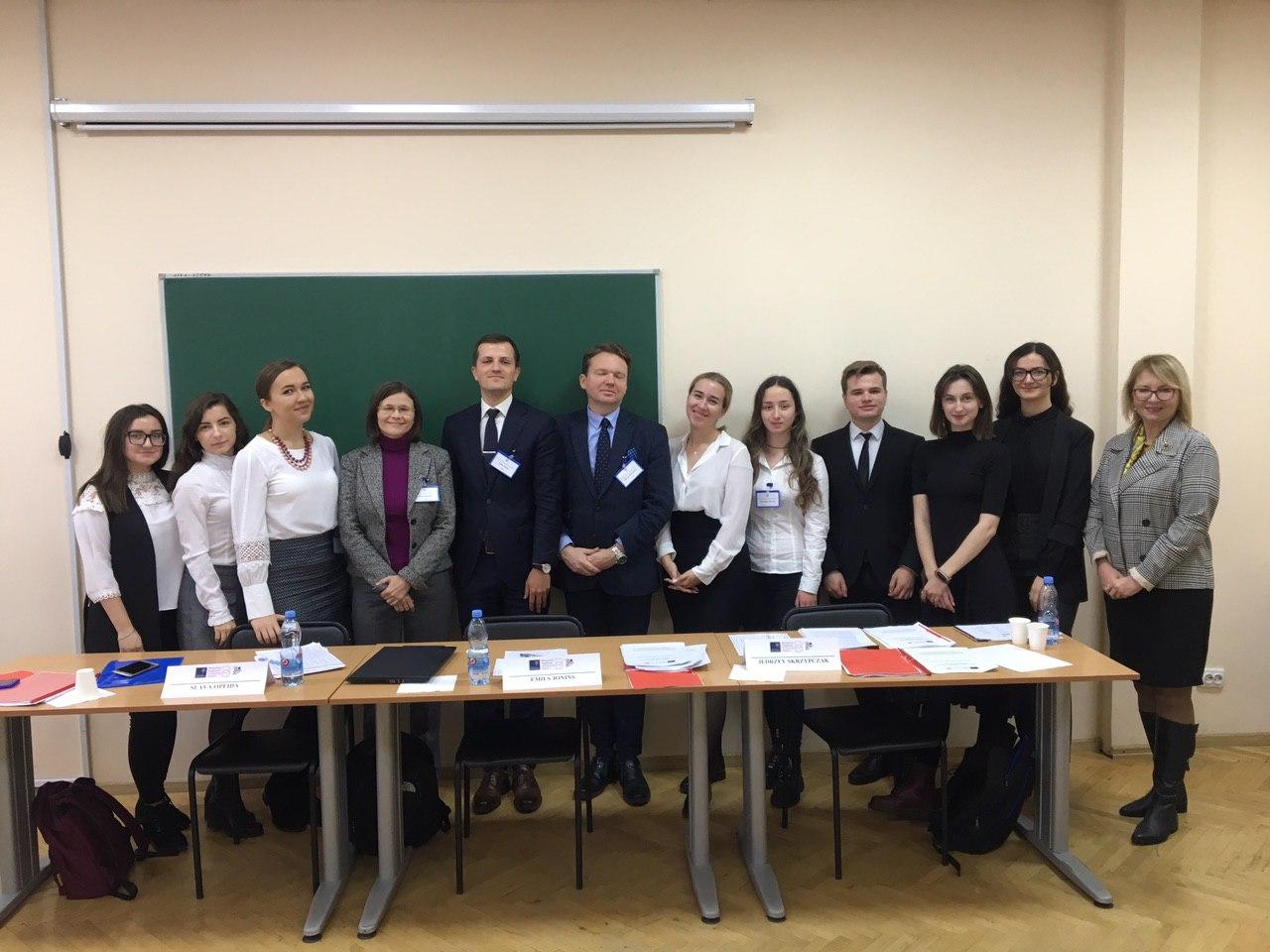 Студенты Факультету міжнародних відносин НАУ взяли участь у міжнародних судових дебатах Price Media Law Moot Court Competition.