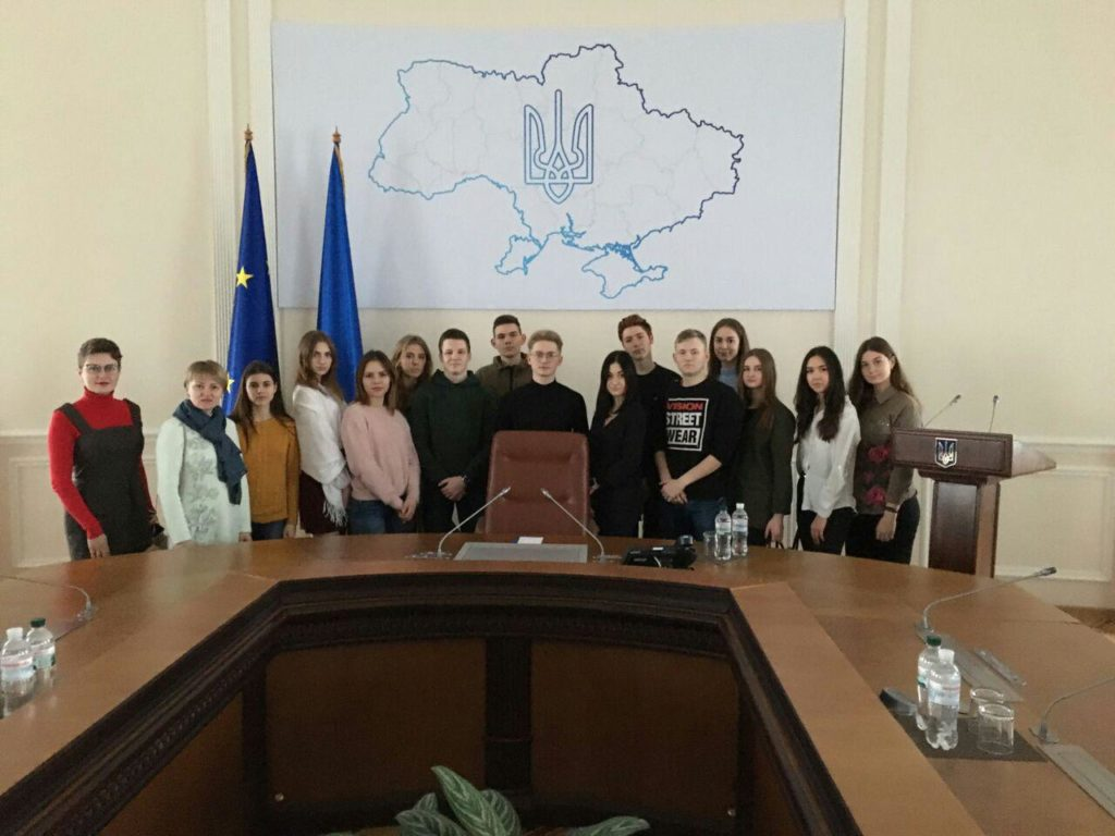 Студенти ФМВ відвідали Будинок Уряду