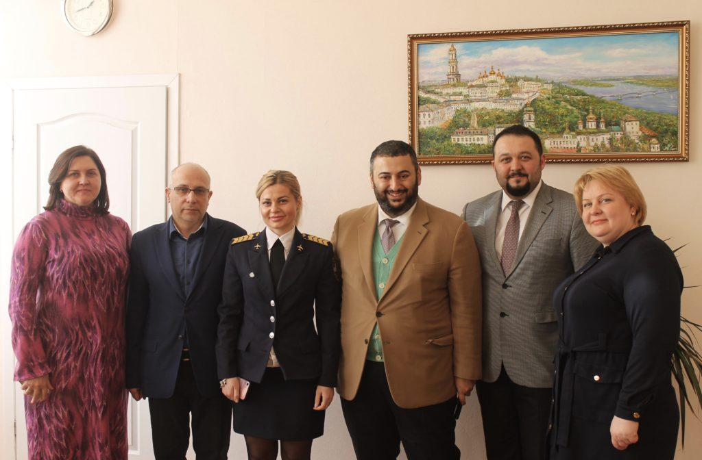 На Факультеті міжнародних відносин НАУ відбулася робоча зустріч з представниками комерційного холдингу «Yıldırım»