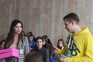 Факультет міжнародних відносин відвідали громадська активістка Анастасія Герман та відома київська інстаграм – блогерка, Надін Медведчук