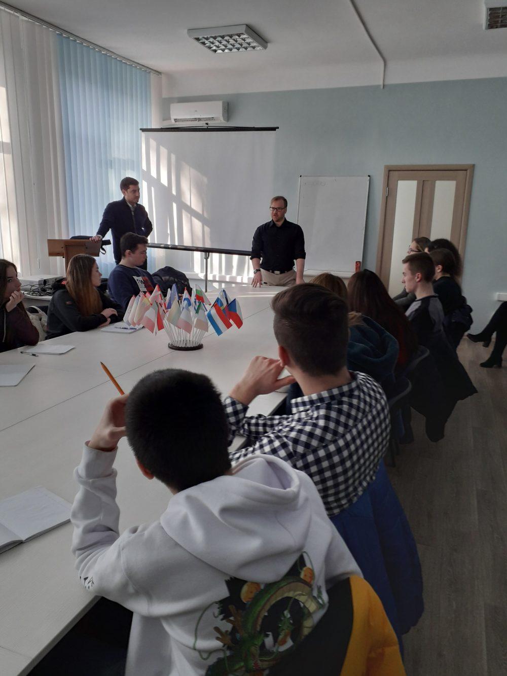 Зустріч студентів факультету ФМВ із представниками міжнародної освітньої компанії «EMPIRE GROUP»