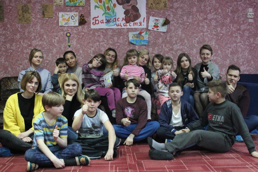 Студенти факультету міжнародних відносин НАУ відвідали Сквирський дитячий будинок «Надія» для дітей – сиріт та дітей, позбавлених батьківського піклування