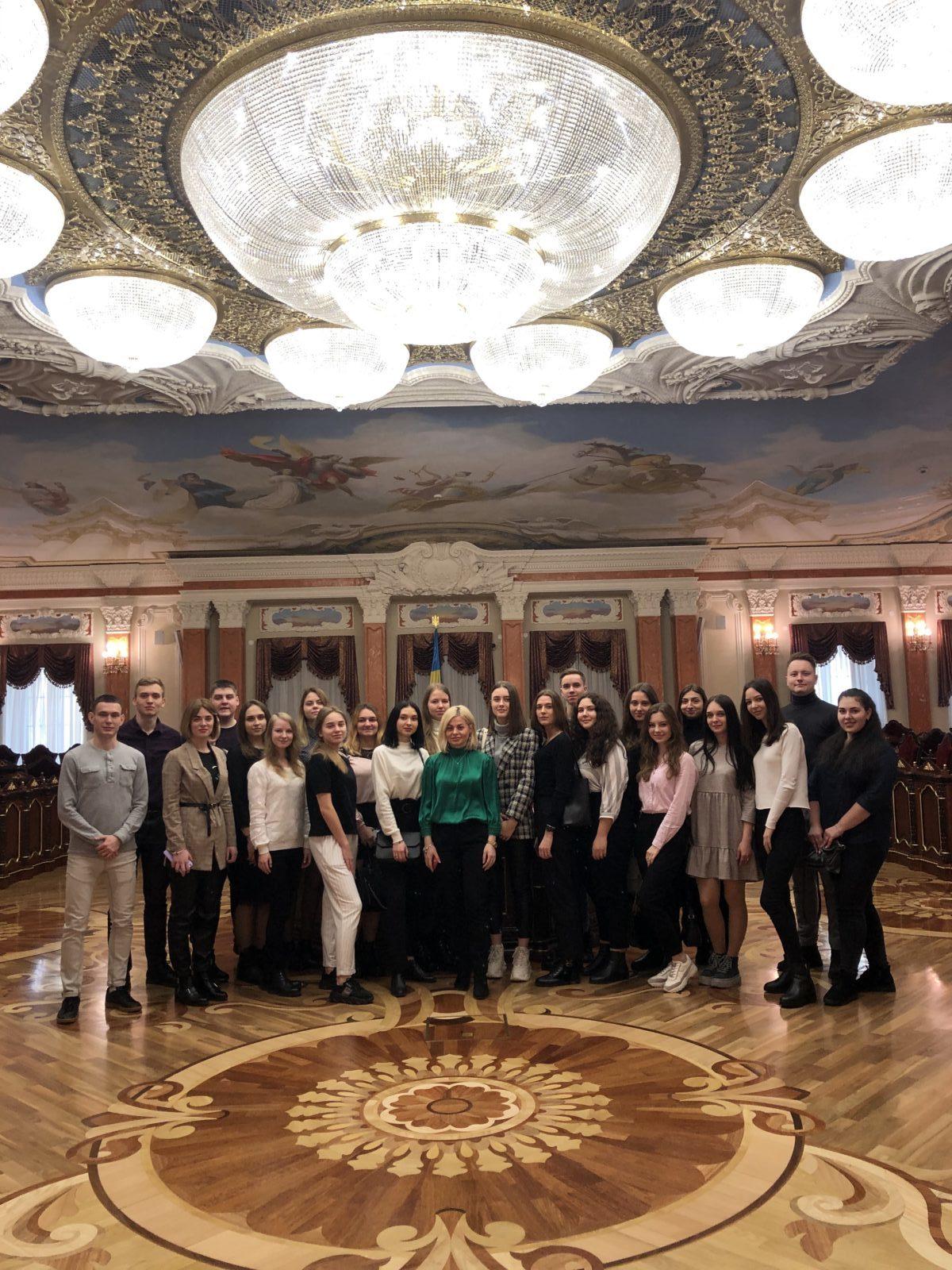 Студенти факультету міжнародних відносин НАУ відвідали Верховний Суд України