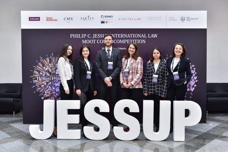 Студенти факультету міжнародних відносин НАУ посіли шосте місце в українському етапі міжнародних змагань з міжнародного публічного права імені Філіпа Джессапа