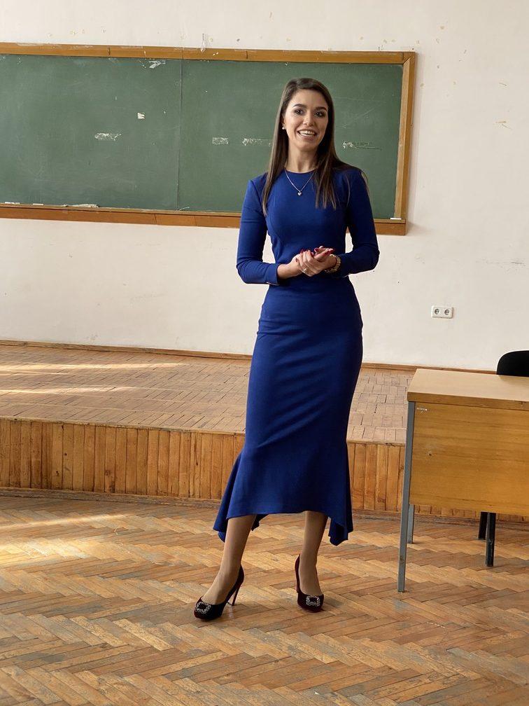 Факультет міжнародних відносин НАУ відвідала відома телевізійна піарниця та інстаграм – блогерка Юлія Павленко