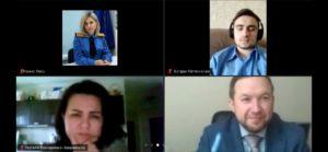 Відбулося онлайн засідання Вченої ради факультету міжнародних відносин НАУ