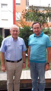 Робочий візит декана Факультету міжнародних відносин Ю. Волошина в Албанію