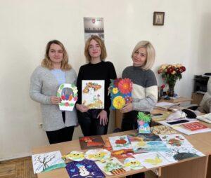 Подарунки ФМВ НАУ від вихованців Сквирського дитячого будинку «Надія»
