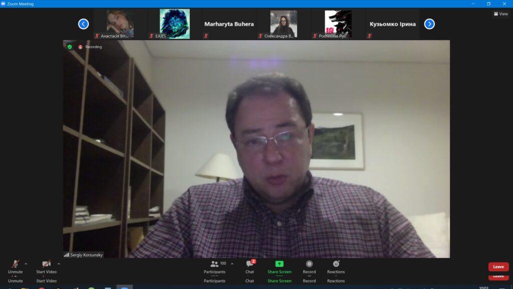 (Українська) Онлайн-зустріч з Надзвичайним і Повноважним Послом України в Японії