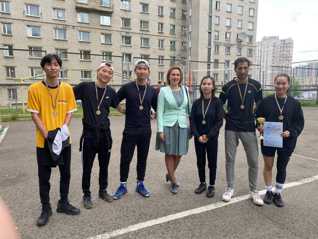 Команда ФМВ НАУ здобула перемогу у турнірі з волейболу