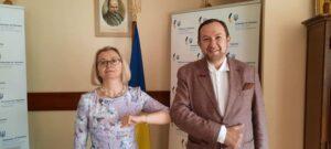 Про робочий візит декана факультету Юрія Волошина до  Республіки Північна Македонія