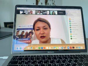 Онлайн-зустріч з керівництвом Вищої гуманітарної школи Казахського державного юридичного університету