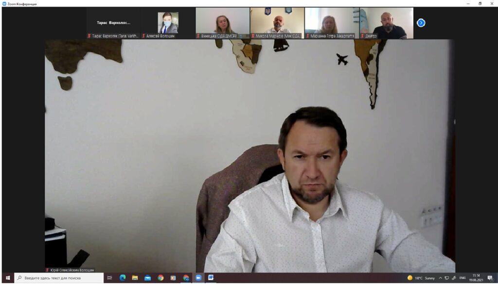 (Українська) Декан ФМВ взяв участь в засіданні  міжвідомчої робочої групи з розвитку сфери туризму та курортів