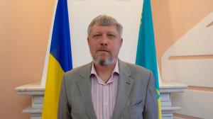 Відеопривітання Надзвичайного і Повноважного Посла України в Республіці Казахстан Петра Врублевського