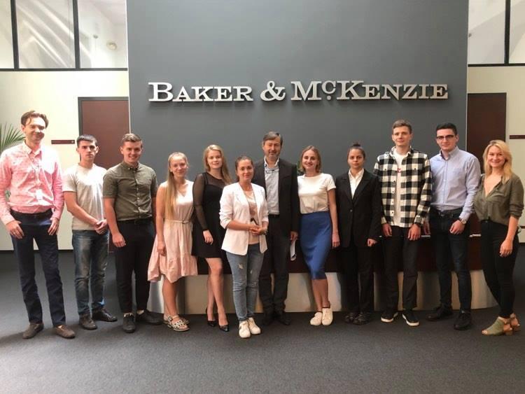 (Українська) Студентка ФМВ пройшла стажування в авторитетній міжнародній юридичній фірмі Baker McKenzie