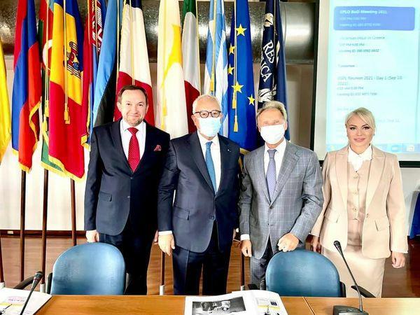Декан ФМВ взяв участь у засіданні Ради директорів Європейської організації публічного права
