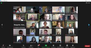 (Українська) Студенти ФМВ взяли участь в міжнародному онлайн-семінарі з питань прямої демократії в правовій державі