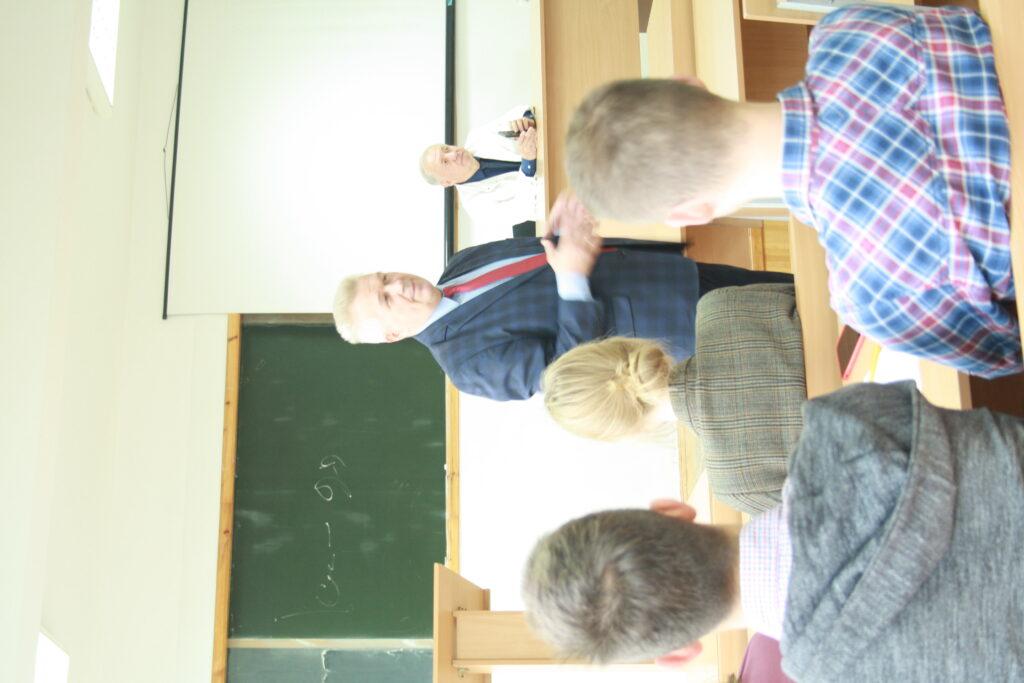 Залучення в навчальний процес представників міжнародного бізнесу